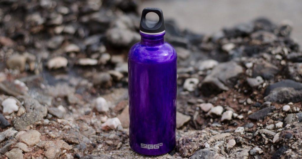 ūdens pudeļu materiāli