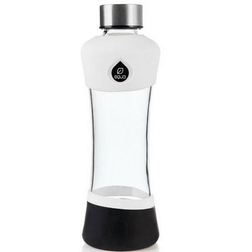 Stikla ūdens pudele ar silikonu