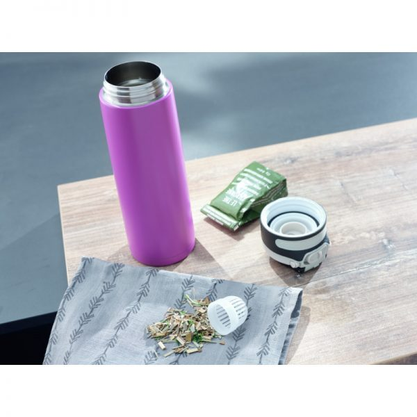 LEIFHEIT Flip Insulated Mug purple 600ml