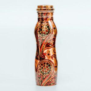 Vara pudele Kaleidoscope ar grafiku