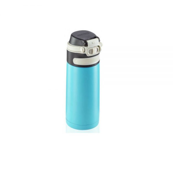 Leifheit flip insulated mug light blue 350 g