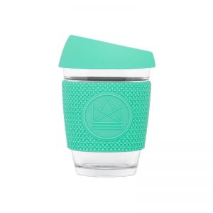 Neon Kaktus Mint stikla kafijas krūze 340ml