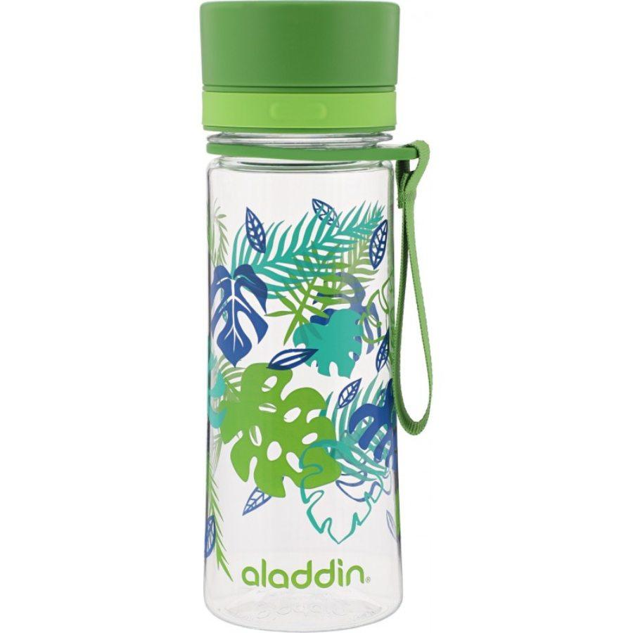 aladdin zaļa pudele