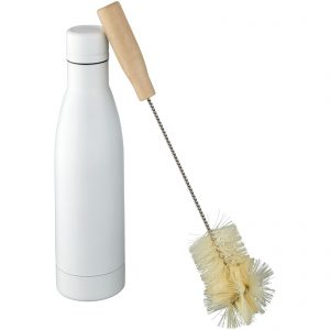 Vasa vacuum botlle with brush white 500ml