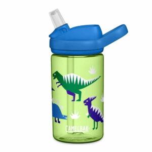 camelbak eddy kids hip dinos 400ml ūdens pudele