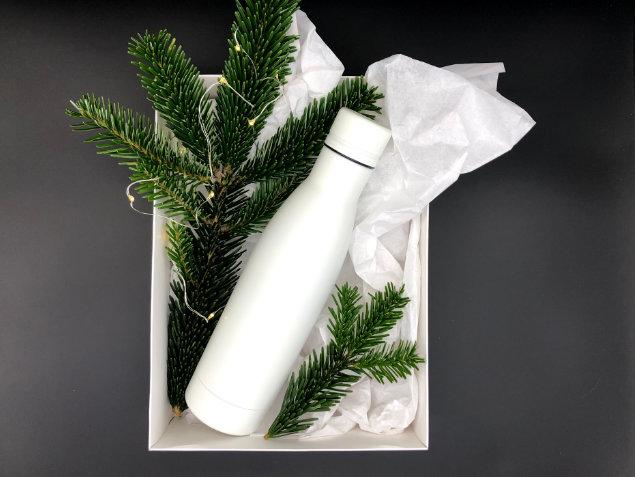 Dāvana kolēģim - ūdens pudele