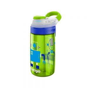 Contigo Gizmo Sip zaļa bērnu pudelīte 420ml