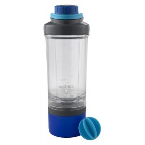 Fitnesa šeikeris Contigo Shake and Go Fit zils 650ml