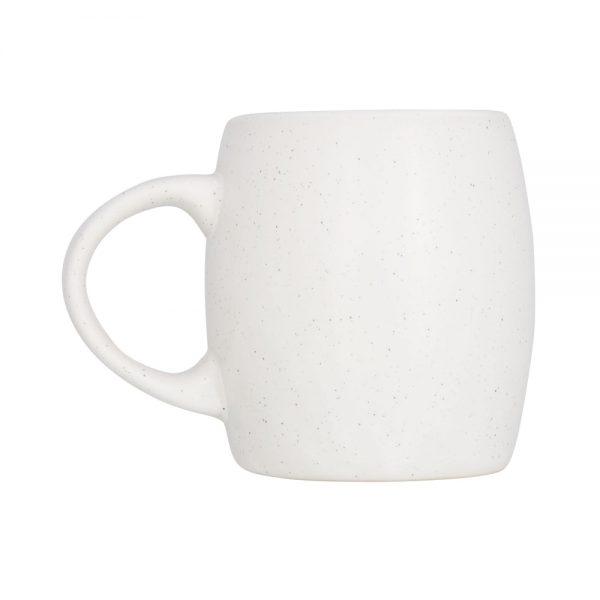 Balta kafijas krūze STONE birojam vai mājai