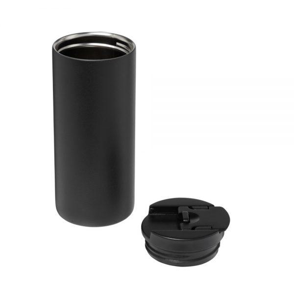 Melna nerūsējošā tērauda termokrūze LAGOM
