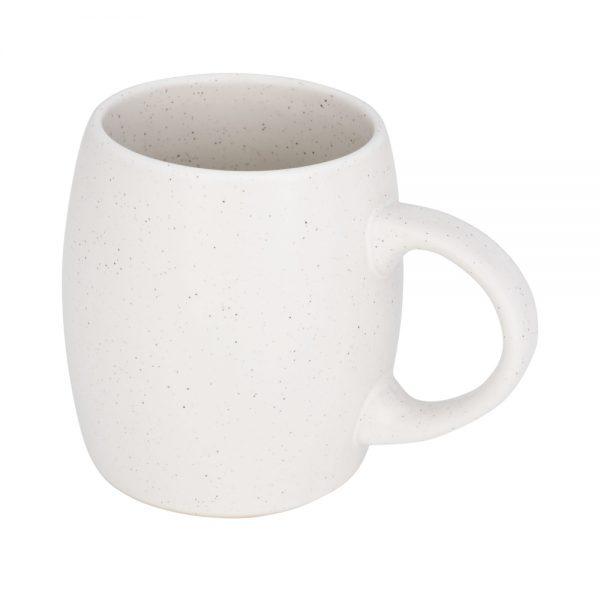 Mūsdienīga dizaina balta kafijas krūze 590ml