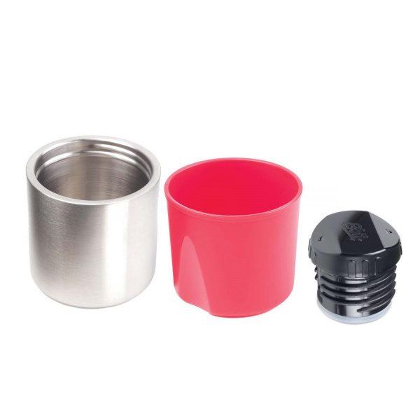 Esbit 1000ml vacuum flask black/red