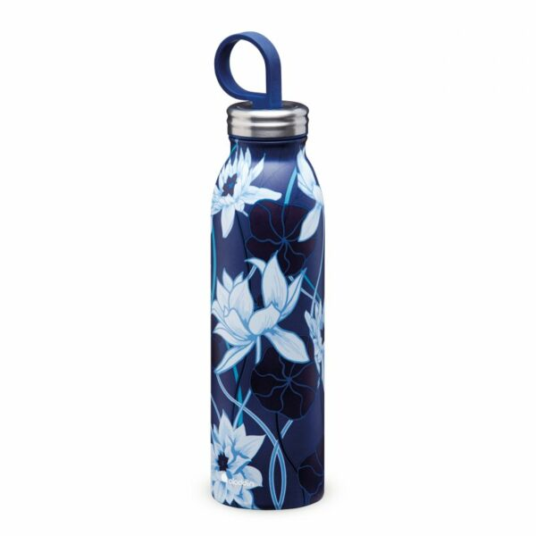aladdin chilled lotus navy termopudele