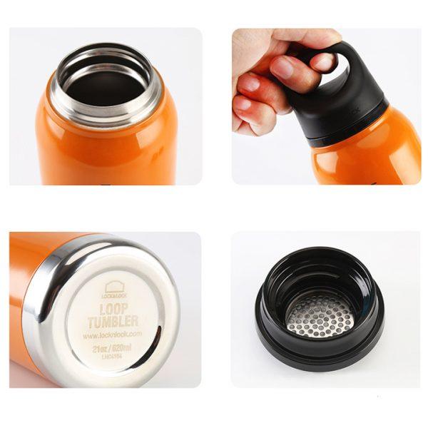 termopudele lock&lock loop oranža
