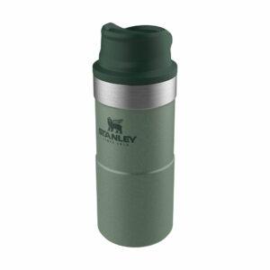 Stanley One Hand 250ml zaļa termokrūze