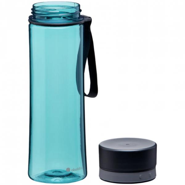 aladdin aveo ūdens pudele zila