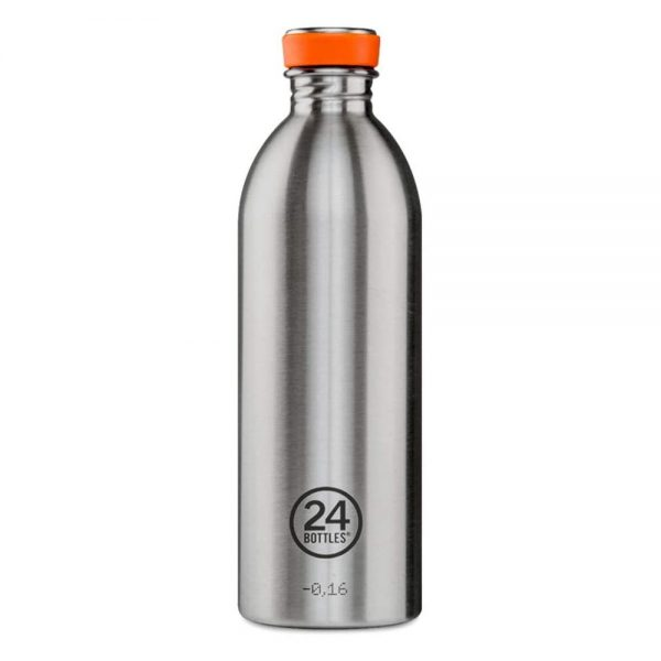 Tērauda termopudele 24bottles Urban Steel ikdienai 1000ml