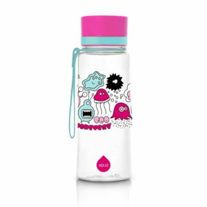 equa pink monsters ūdens pudele