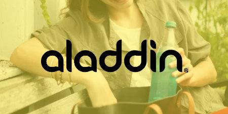 Aladdin - praktiskas un ērti lietojamas ūdens pudeles un termokrūzes ikdienai