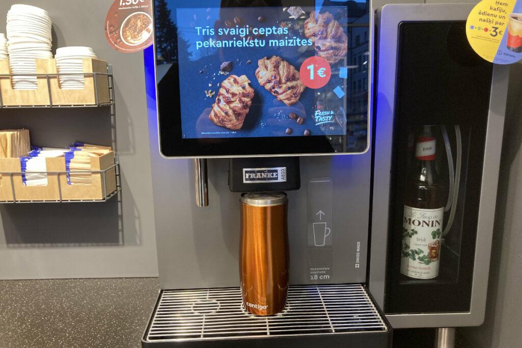 Contigo West Loop Narvesen kafijas automātā