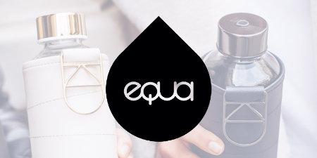 Equa - skaistas un praktiskas ūdens pudeles ikdienai