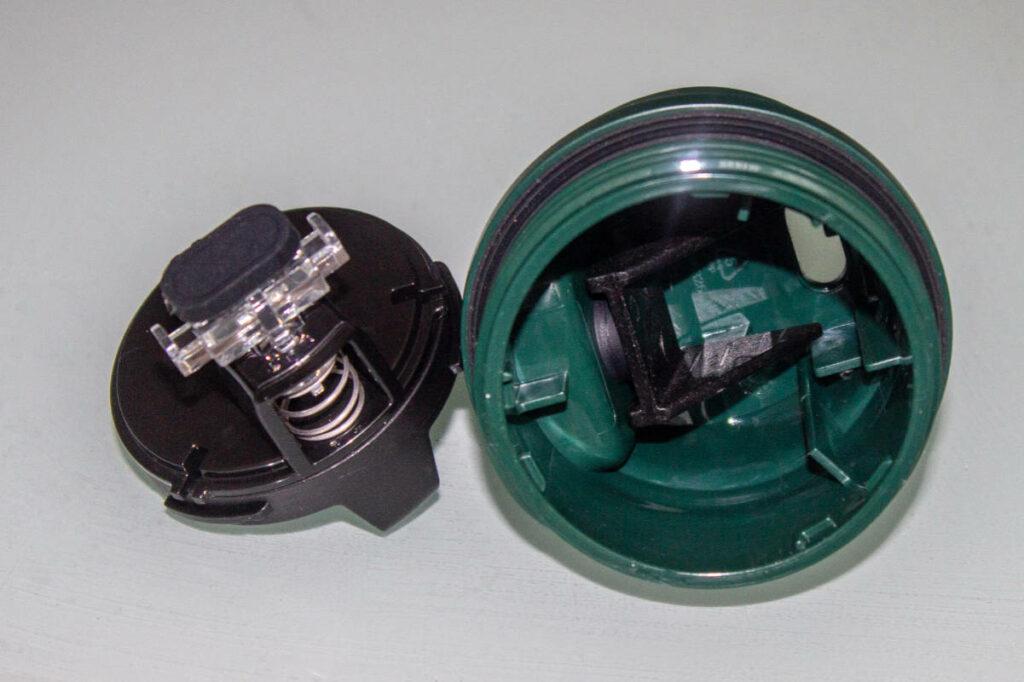 Stanley termokrūzes vāciņa mehānisms