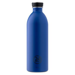 24bottles clima gold blue 1L ūdens pudele