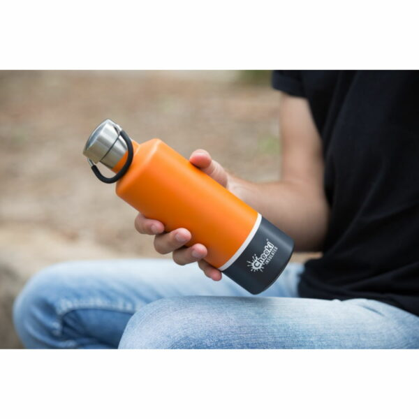 cheeki 600ml oranža termopudele