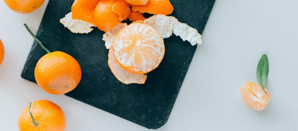 mandarīni nektarīni