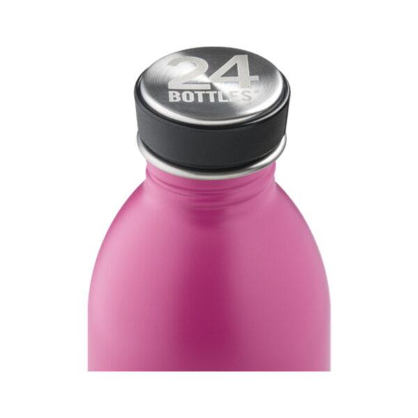 24bottles urban passion pink ūdens pudele 500ml