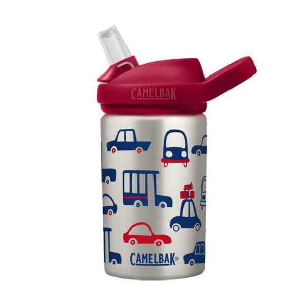 camelbak eddy+ kids cars&trucks ūdens pudele 400ml