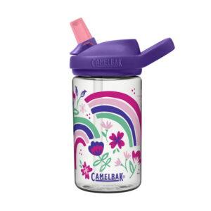 camelbak eddy kids rainbow floral bērnu ūdens pudele