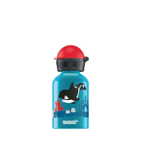 SIGG orca family 300ml bērnu ūdens pudele