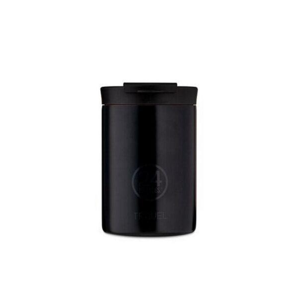 24bottles tuxedo black termokrūze 350ml black
