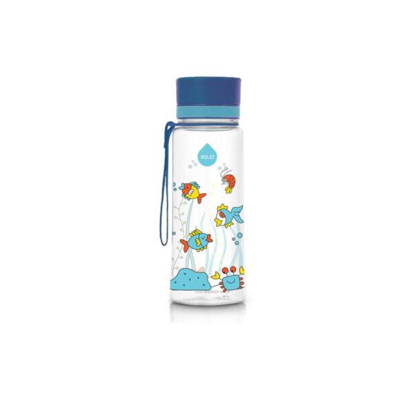 equa equarium 400ml bērnu ūdens pudele