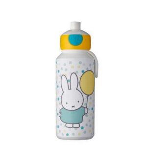 mepal miffy confetti bērnu ūdens pudele 400ml
