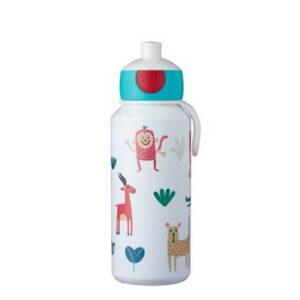 mepal animal friends bērnu ūdens pudele 400ml