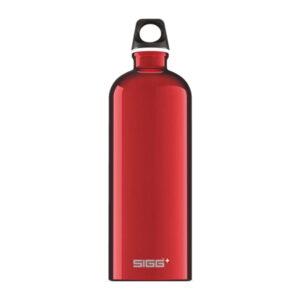 sigg traveller red 1l ūdens pudele