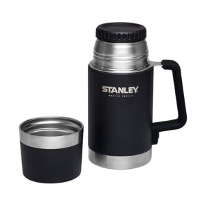 Stanley The Unbreakable 400ml melns ēdienu termoss