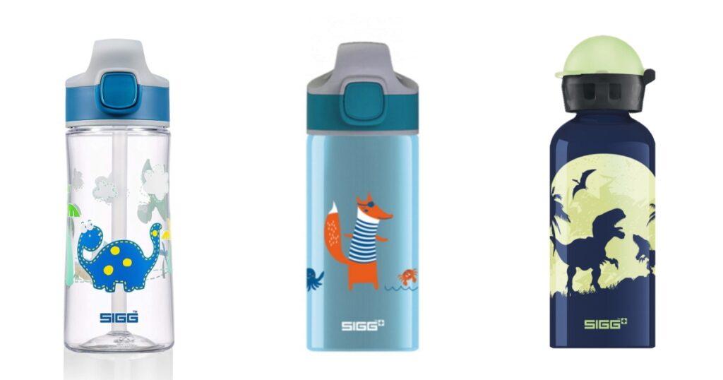 sigg ūdens pudeles bērniem