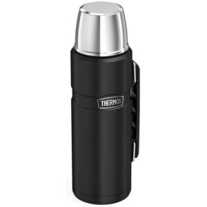 Thermos Stainless King termoss 1.2L melns