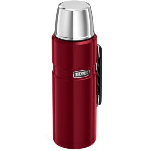 Thermos Stainless King termoss 1.2L cranberry sarkans