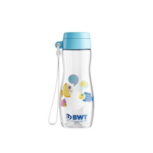 BWT bērnu ūdens pudele fish 375ml zila